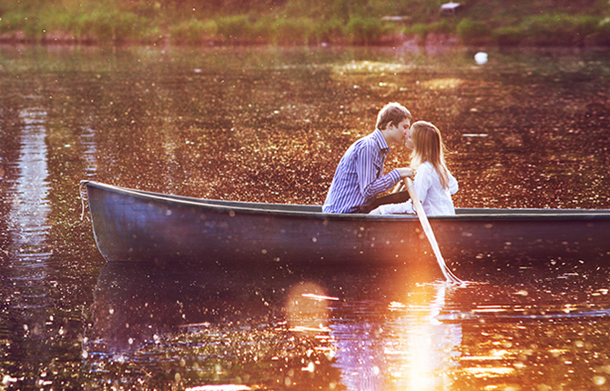 и один я на лодке остался