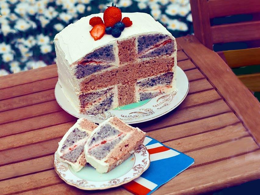 Кусок торта на английском