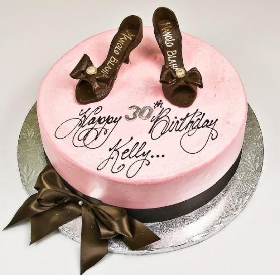 Креативный торт на день рождения девушке