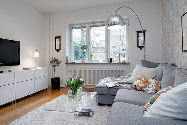 Дизайны шведских квартир