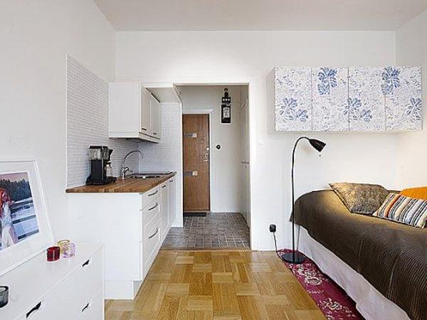Интерьер фото маленьких квартир