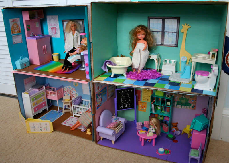 Куклы мебель для барби своими руками