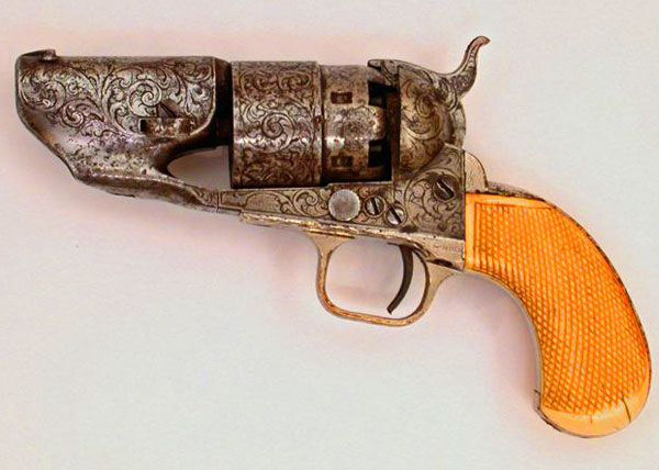 a history of the colt model army revolver in 1860 a fast reloading lightweight pistol with effective Us model 1816 flintlock pistol colt third model dragoon percussion revolver the colt web site has more about this fascinating history: sam colt's.
