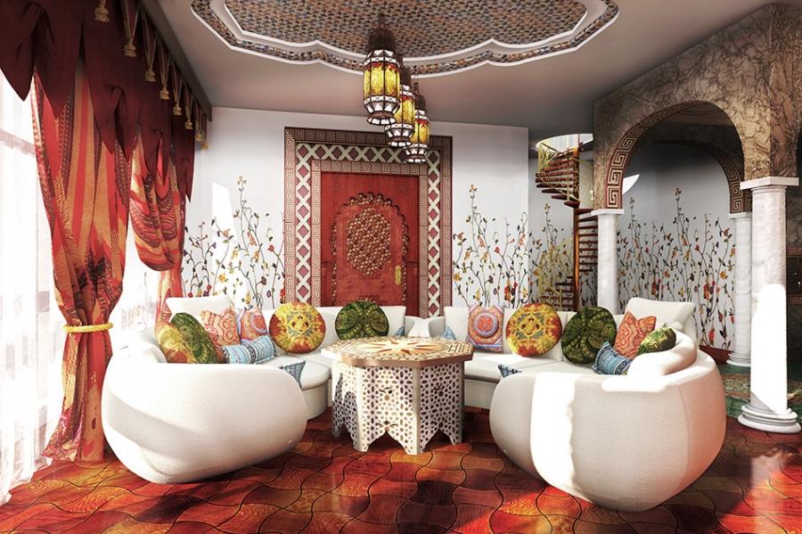 Арабский интерьер фото