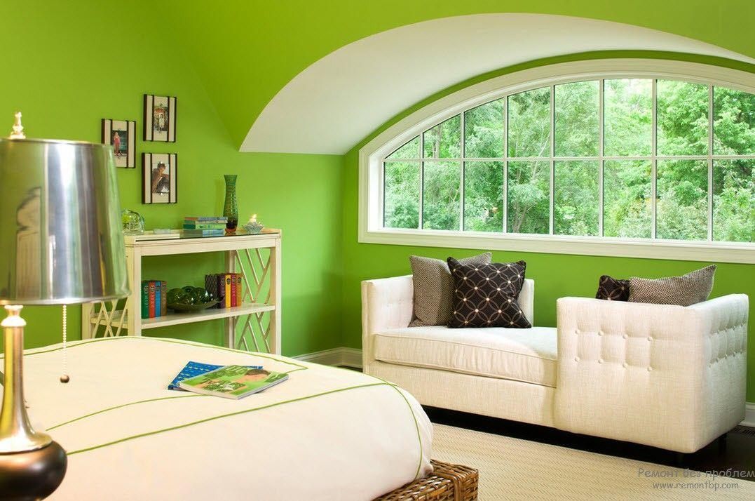 Цветовой дизайн стен