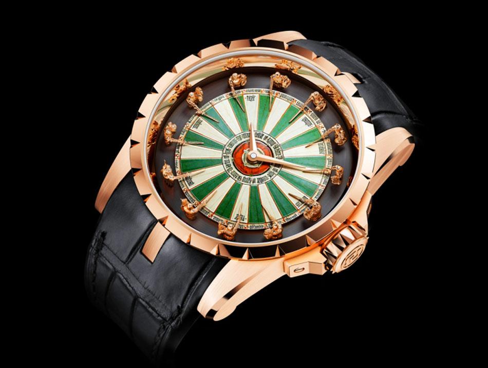 Эксклюзивные часы excalibur table ronde, выпущенные в ограниченном количестве 88 штук, компания roger dubuis представит в женеве лишь в начале будущего года, на знаменитой выставке часового искусства sihh понравилась статья?