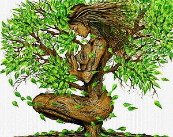 Делаем сами Древо жизни и узнаем значение символа