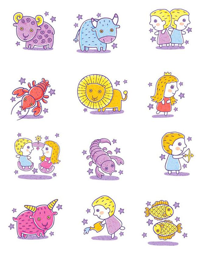 Веселые знаки зодиака картинки, картинки